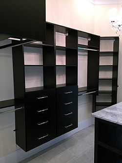 Superb Black Closet Organizers