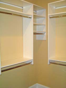 Merveilleux Wall Hung System. Closet Organizer